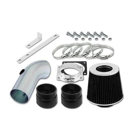 RL Concepts Black Short Ram Air Intake Kit + Filter 92-95 Mercury Grand Marquis 4.6 V8