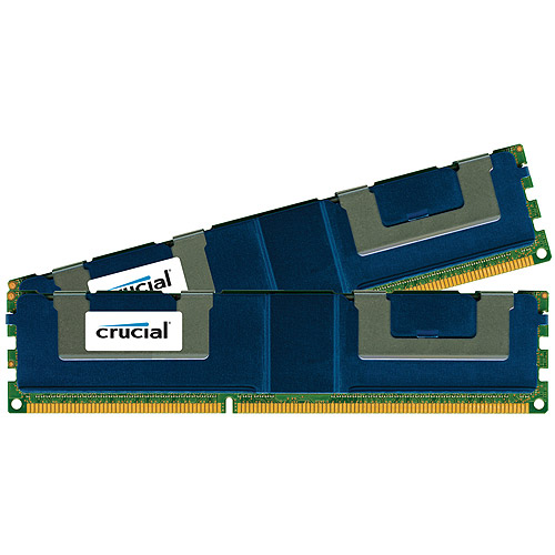 Crucial 32GB Kit (16GBx2) DDR3 PC3-14900 Registered ECC 1.5V 2048Meg x 72