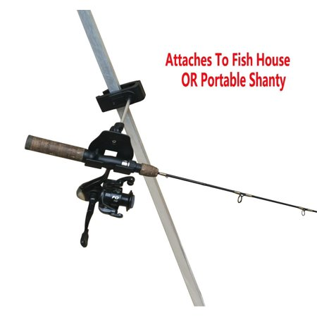 Brocraft ice fishing bucket rod holder ice fishing house for Ice fishing rod holders