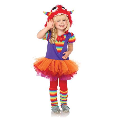 Rainbow Monster Child Toddler Costume