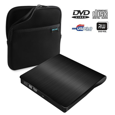 Usb 3 0 External Dvd Cd Drive  Jelly Comb Slim Portable External Dvd Cd Rw Burner Drive For Laptop  Notebook  Desktop  Mac Macbook Pro  Macbook Air And More