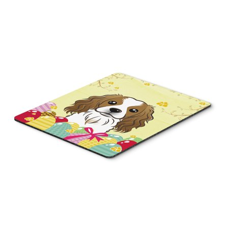 Carolines Treasures BB1906MP Cavalier Spaniel Easter Egg Hunt Mouse Pad, Hot Pad or