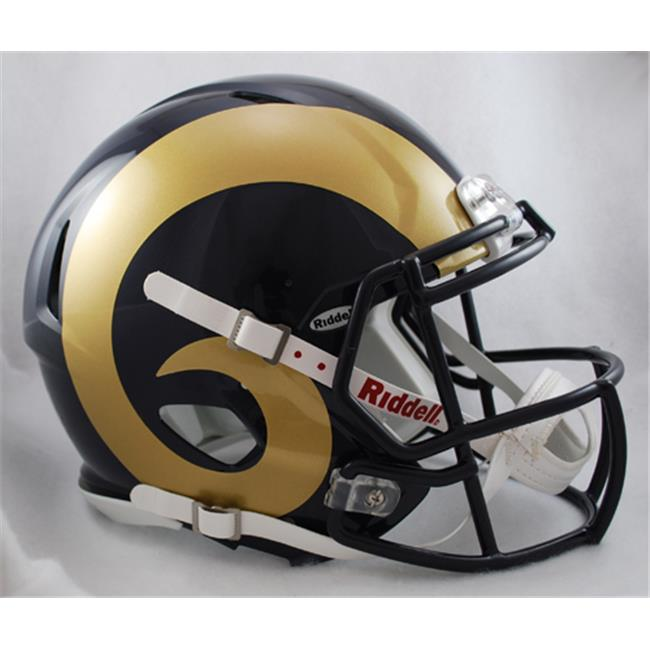 Creative Sports Enterprises RDRSA-RAMS St.  Louis Rams Riddell Speed Revolution Full Size Authentic Proline Football