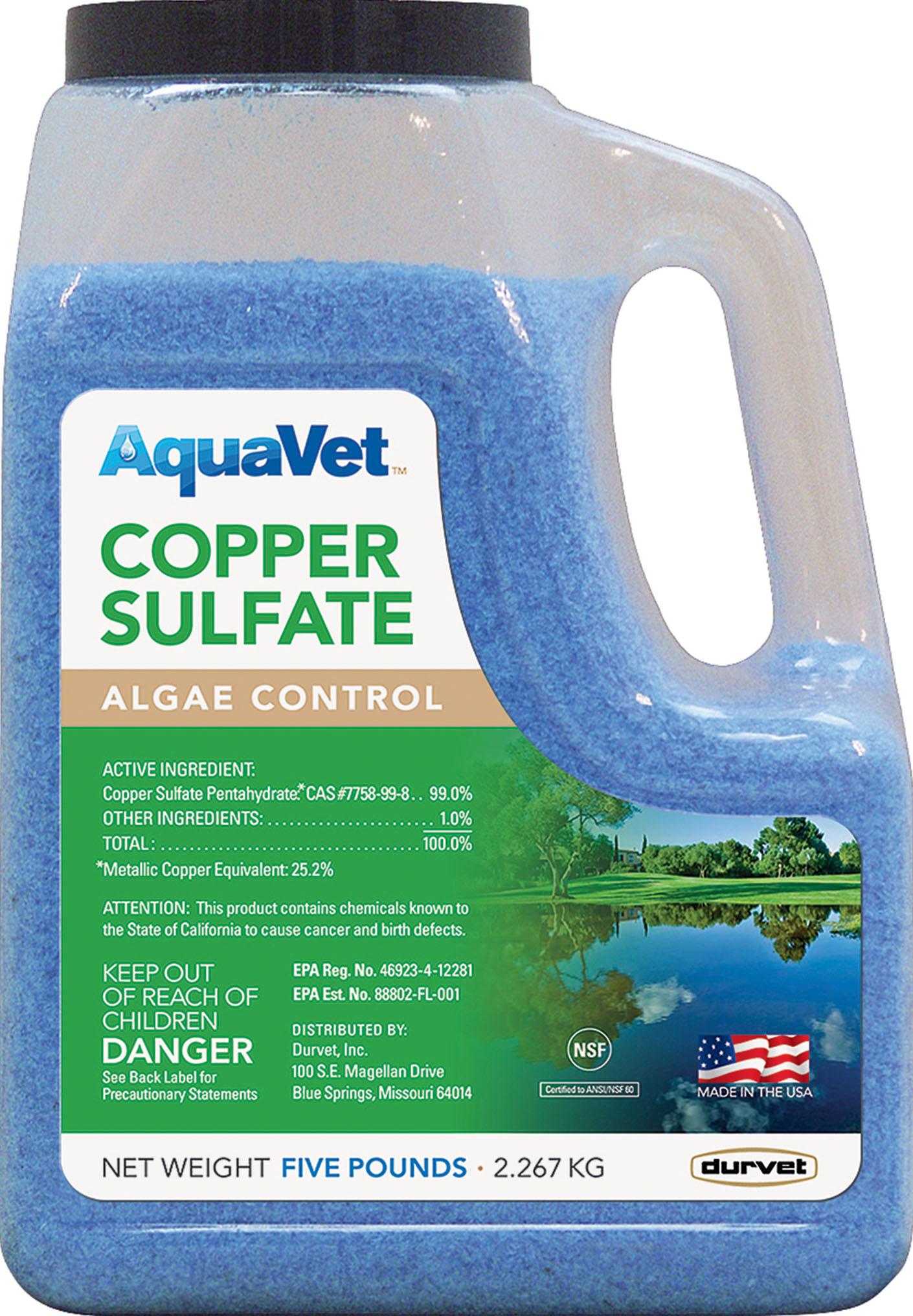 AQUAVET COPPER SULFATE ALGAE CONTROL - Walmart.com