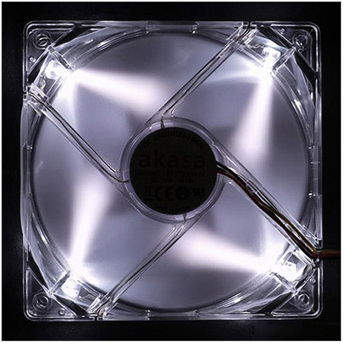 CyberPower CPFA104123 Maximum 120mm LED Case Fan, Crystal