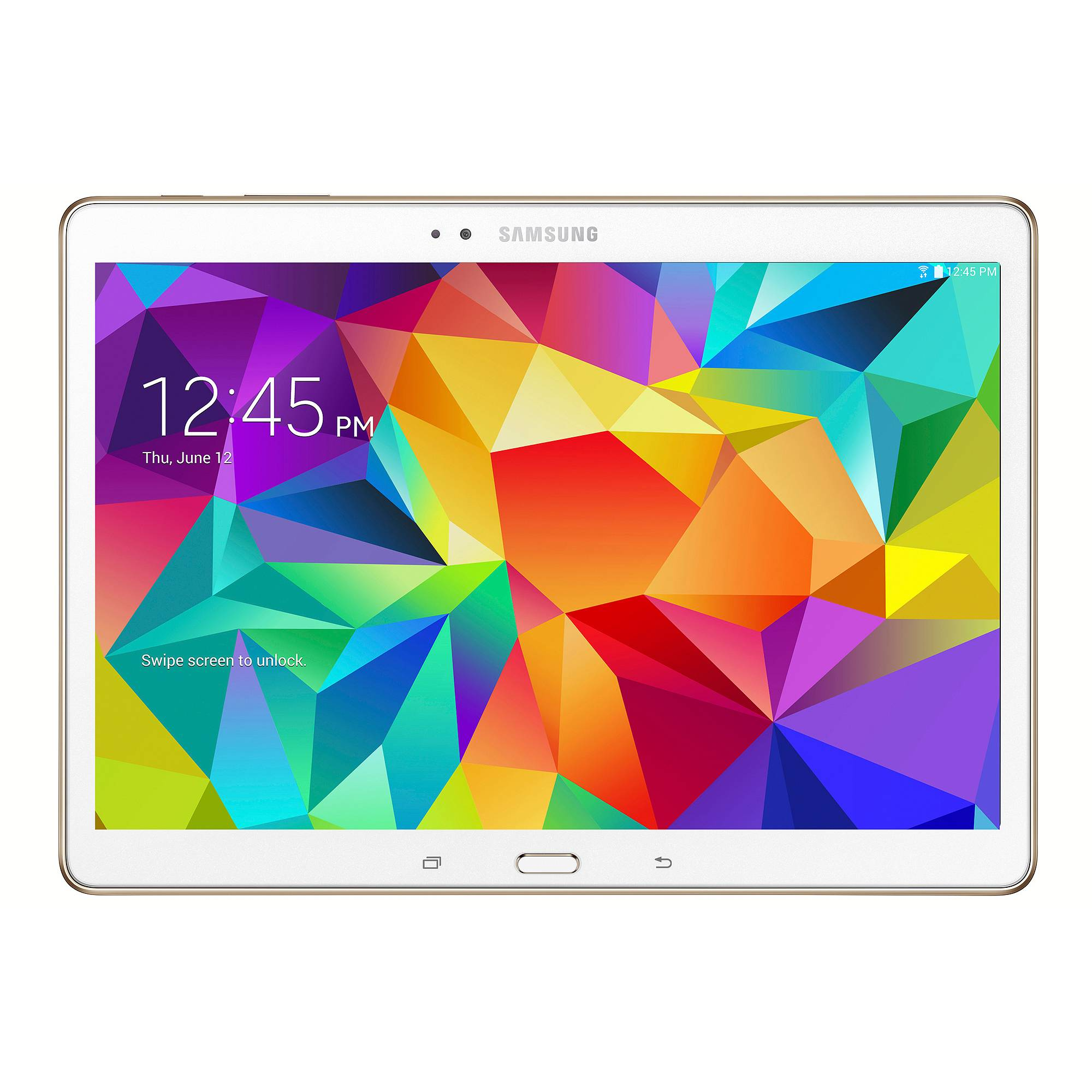 "SAMSUNG Galaxy Tab S Android Tablet SM-T807V 10.5"" Wi-Fi 4G (Verizon) 16GB"