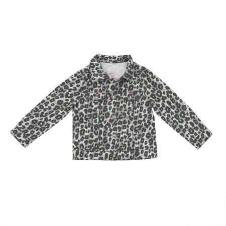 Baby Toddler Girl Denim Jacket - Baby T Bird Jacket