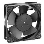 4184N/2XH DC Fan Axial with Sensor Flange Mount