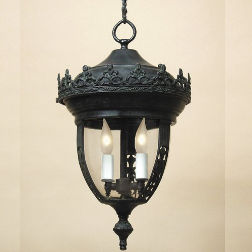 JVI Designs Small 2-Light Outdoor Hanging Lantern by JV Imports