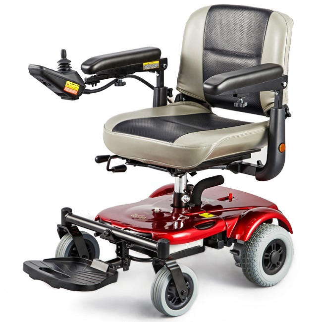Merits EZ-GO Travel Power Chair, Electric Wheelchair - Lightweight and easily disassembled