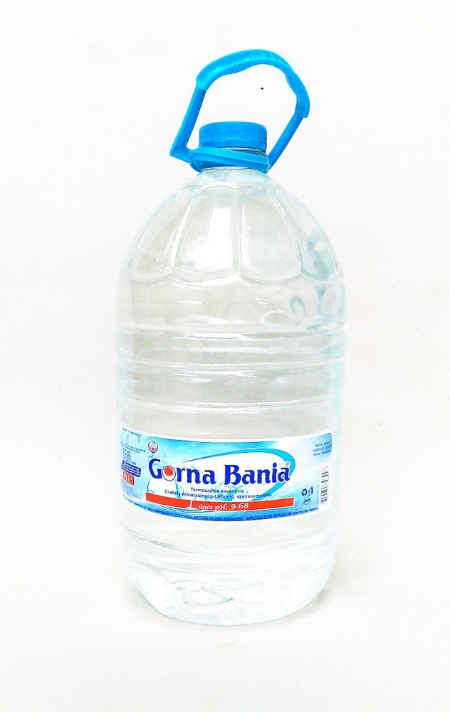 Gorna Bania Bulgarian Mineral Water, 8 L plastic bottle by