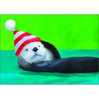 Allport Editions Otter Box of 15 Christmas Cards