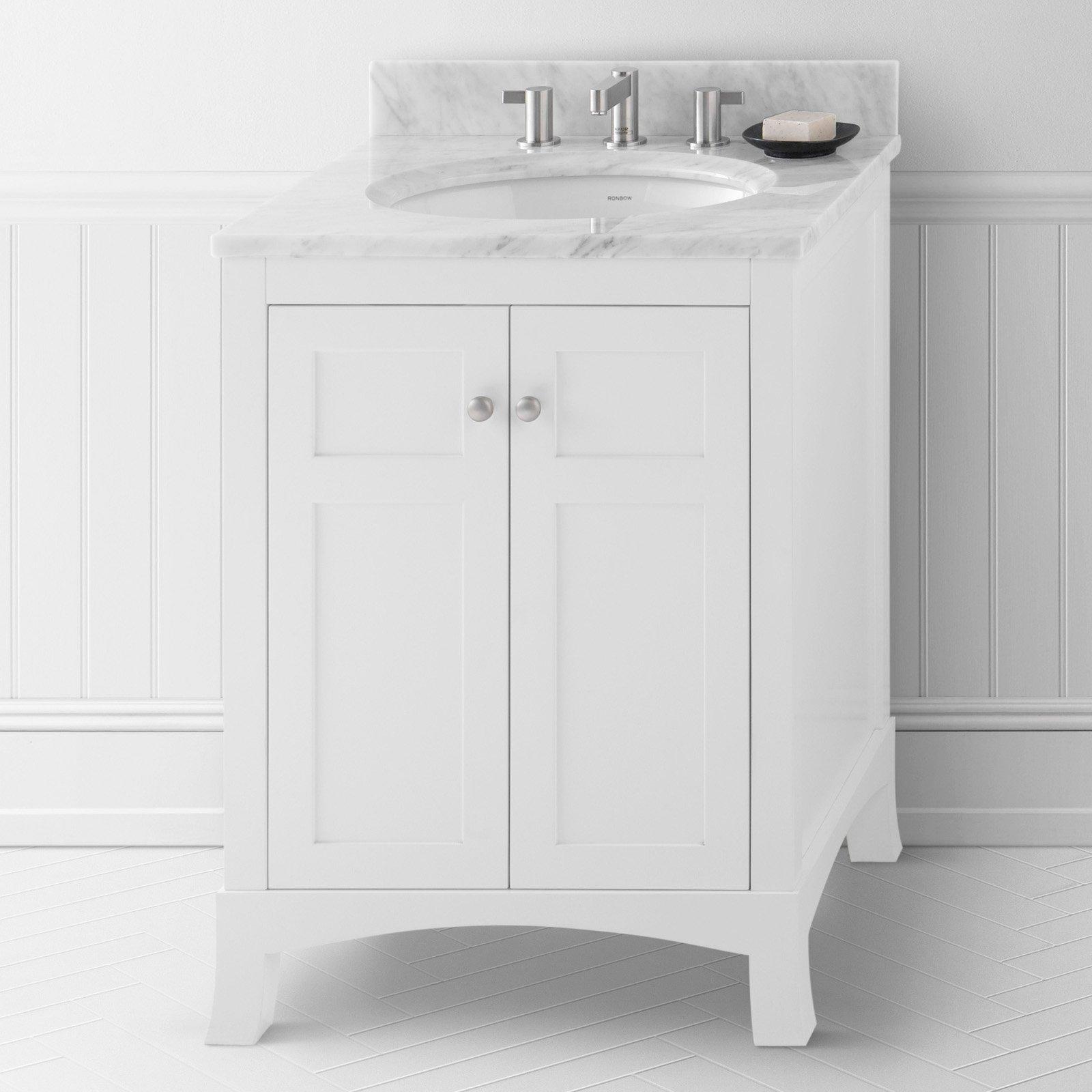 Ronbow 050524-3 Hampton 24 in. Single Bathroom Vanity