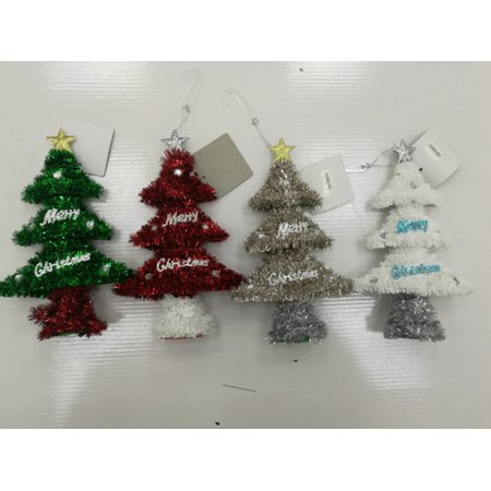 New 378315  Hx Ornament Tree W / Asst Clrs (48-Pack) Christmas Cheap Wholesale Discount Bulk Seasonal Christmas Ornament](Christmas Tree Ornaments Wholesale)