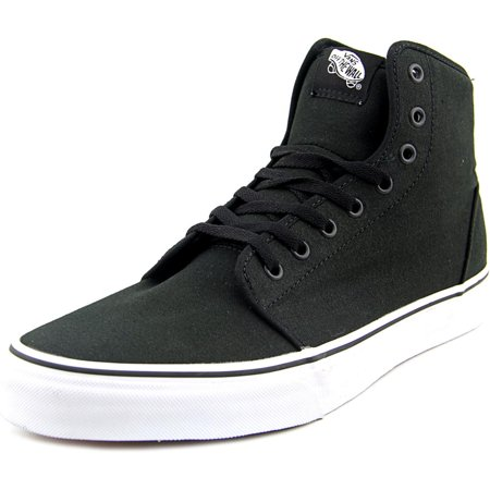 14a2ca58c642 VANS - Vans 106 Hi Men Round Toe Canvas Black Sneakers - Walmart.com