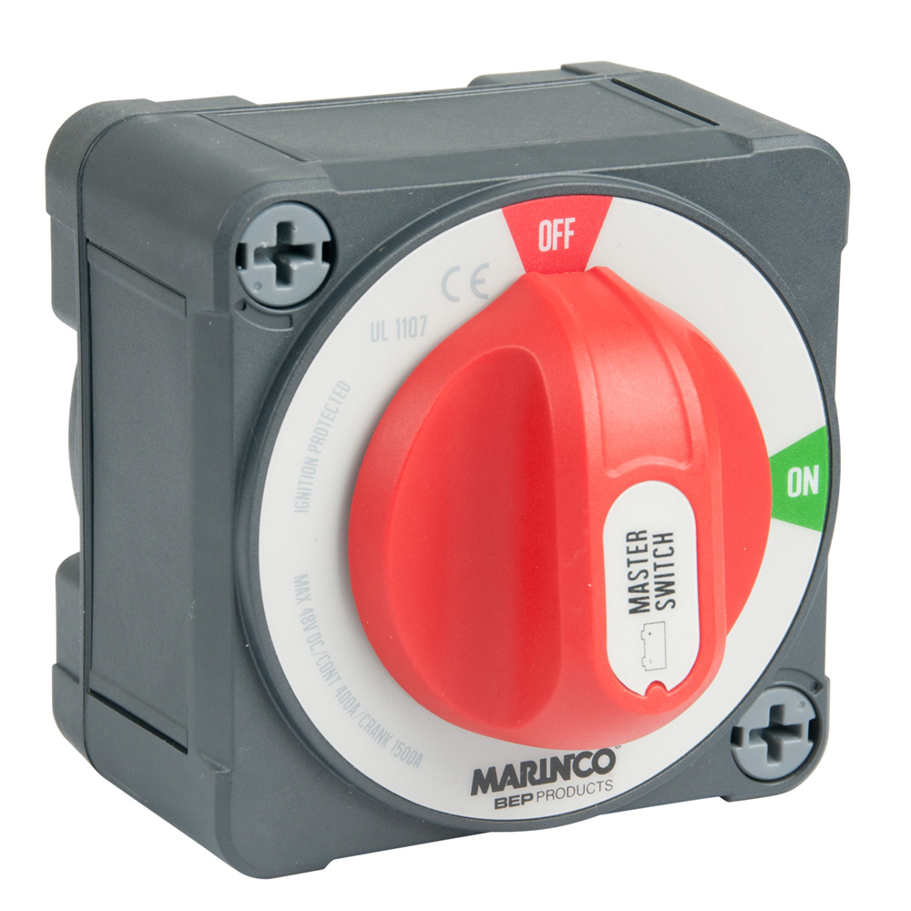 Marinco Pro Installer 400A EZ-Mount On/Off Battery Switch - MC10