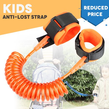 TSV Kids Baby Safety Anti-lost Strap Walking Harness Toddler Link Wrist Leash Belt