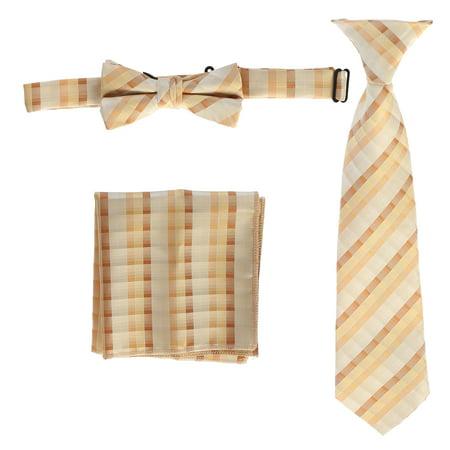 Boys' Plaid Tie Accessories