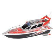 AZ IMPORT & TRADING B87F Red RC Patrol Boat Red