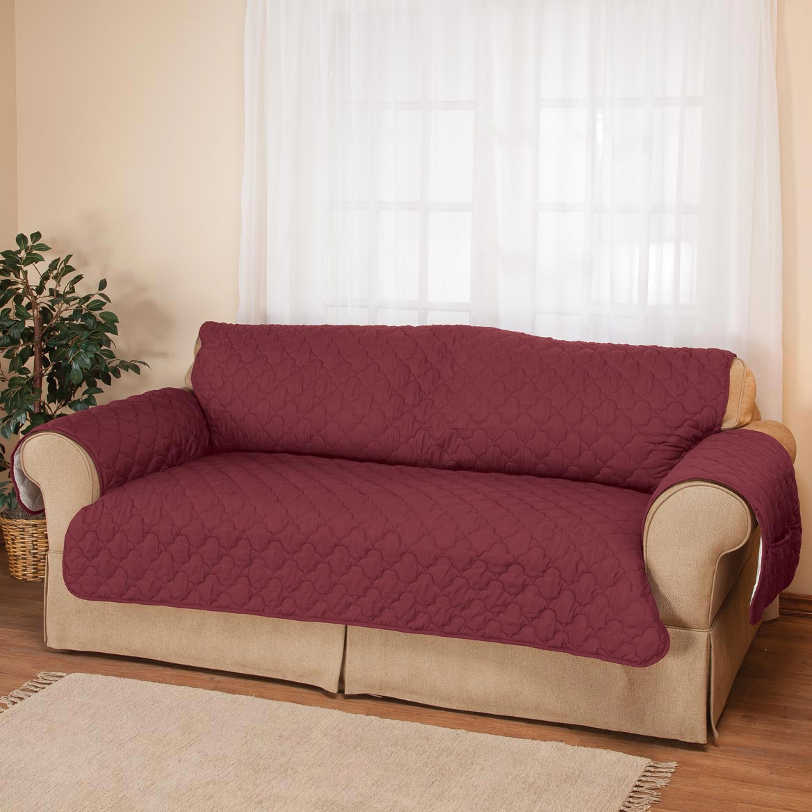 Deluxe Microfiber XL Sofa Cover By OakRidgeTM