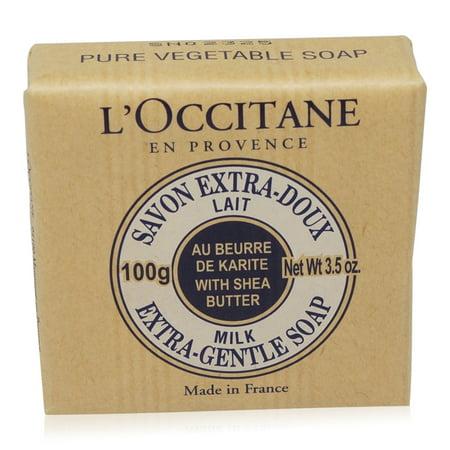 - L'Occitane Shea Butter Extra Gentle Soap Milk -100g