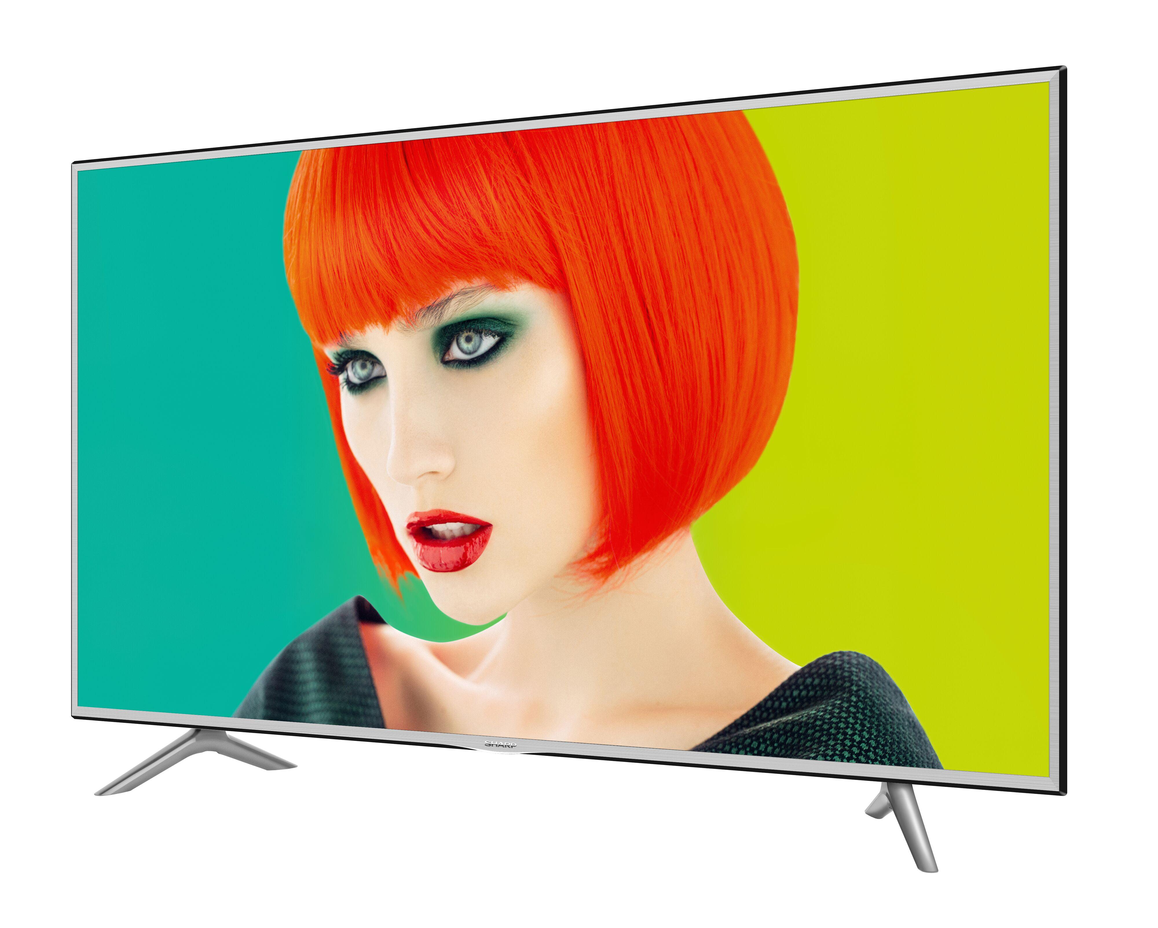 "Sharp AQUOS 55"" Class 4K (2160P) LED Smart TV (LC55P7000U) by Hisense"
