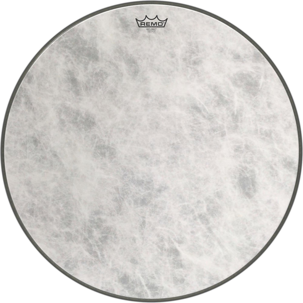 Diplomat Fiberskyn Bass Drum Head by Remo