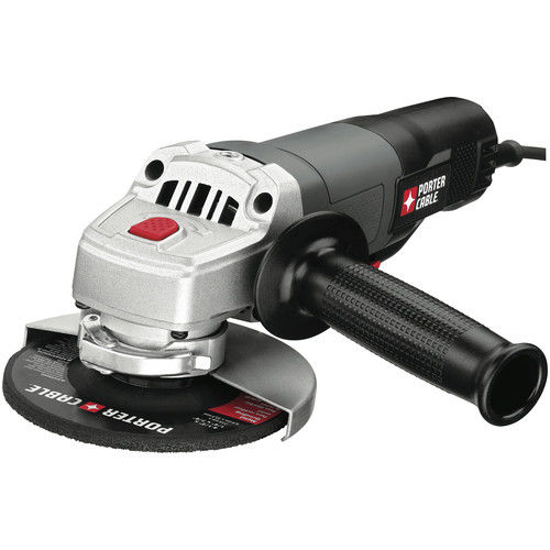 Porter-Cable PC60TPAG Tradesman 4-1 2 in. Small Angle Grinder with Paddle Switch by Porter Cable