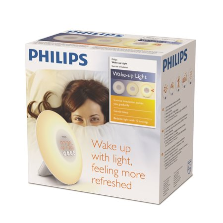 Sunrise Alarm Clock Light - An item Philips Wake Up Light Alarm Clock with Sunrise Simulation White new Latest Design