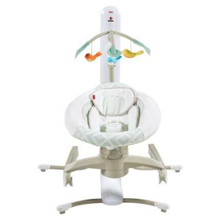 Fisher Price 4 Motion Cradle 'n Swing with Smart Connect by Fisher-Price