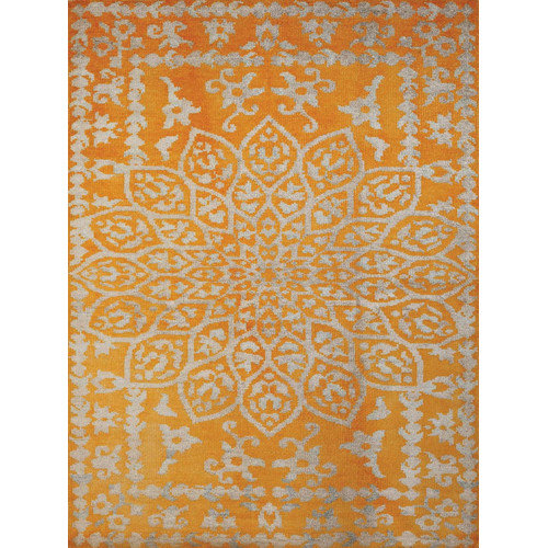 AMER Rugs Kimaya Yellow Area Rug