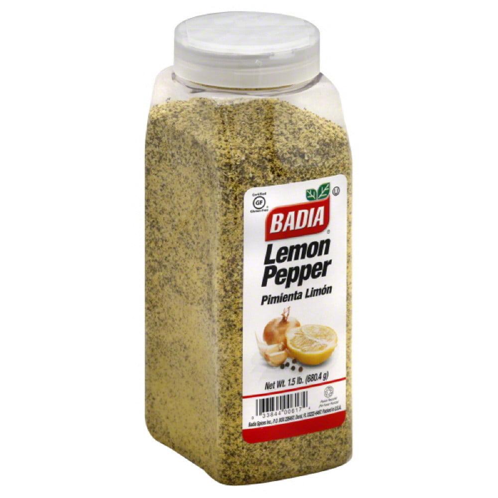Badia Lemon Pepper, 24 Oz (Pack of 6)