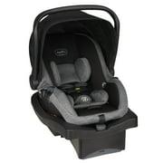 Evenflo Advanced SensorSafe LiteMax Infant Car Seat, Raven Jet