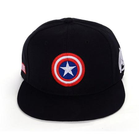 Marvel Avengers Captain America Shield Hat Baseball Cap