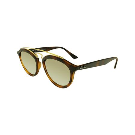 9f84e24e614 Ray-Ban Mirrored Gatsby II RB4257-60925A-53 Brown Round Sunglasses - image  ...