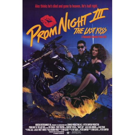 Prom Night 3 The Last Kiss Movie Poster (11 x - Light Up The Night Prom Theme