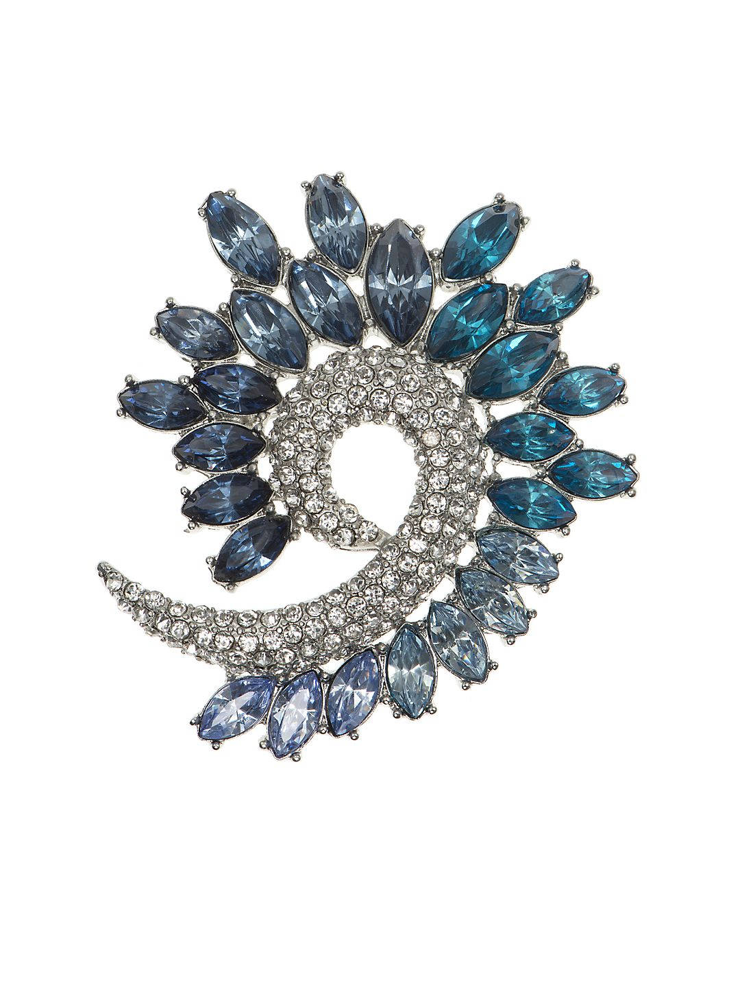 Crystal Arch Boxed Pin