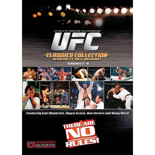 UFC Classics Collection, Vol. 1-4 (Full Frame)
