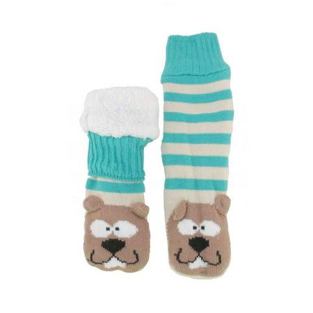 BambooMN Thermal Fleece Lined Sock, Beaver - 1 Pair ()