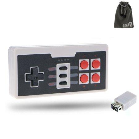 Eeekit Wireless Gaming Joypad Gamepad Controller For Nintendo Mini Nes Classic Edition  Support 16 Feet  5M   Nes Classi