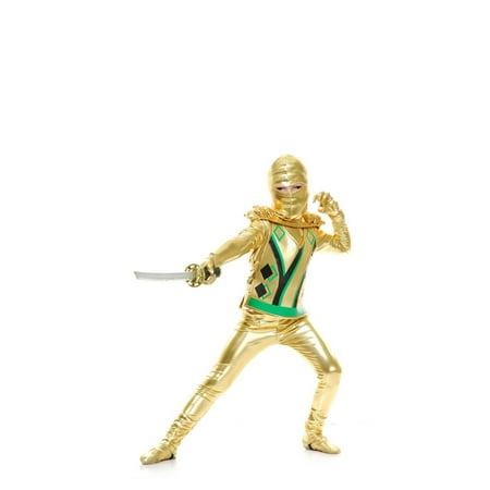 Halloween Golden Ninja Avenger Series III Toddler Costume - Three Halloween Symbols
