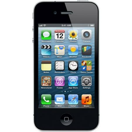 Straight Talk Apple Iphone 4 8Gb Black  Verizon  Locked