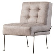 James PU Leather Chair