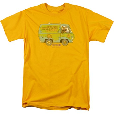 Scooby Doo The Mystery Machine Mens Short Sleeve Shirt](Scooby Doo Shirts For Toddlers)