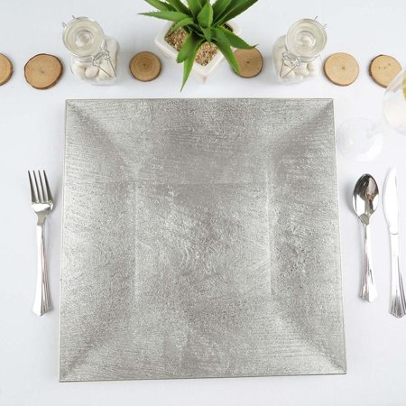 Silver Plated Server - 6 Pack Square 12