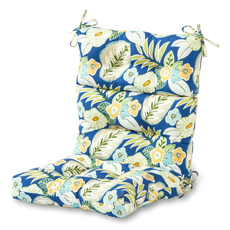 Greendale Home Fashions Marlow Outdoor High Back Chair Cushion