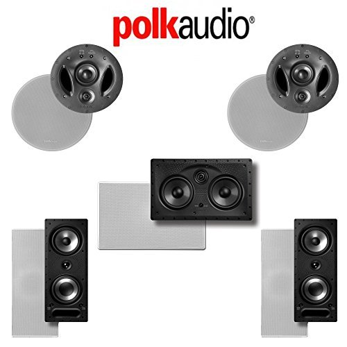 Polk Audio 700-LS 5.0-Ch Vanishing LS Series In-Wall   In-Ceiling Home Speaker System (700-LS + 255C-LS + 265-RT) by Polk Audio