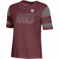 Women's Russell Athletic Maroon Texas A&M Aggies Boxy T-Shirt