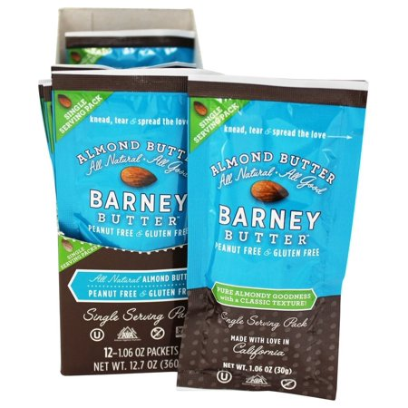 Barney Butter Almond Butter Squeeze Pack, 1.6 Oz