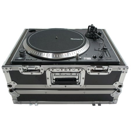 Harmony Case HC1200BMKII Flight Ready Foam Lined DJ Turntable 1200 Road